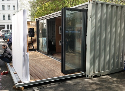 20ft containerhaus containerhome containerhouse imnu bilder. Black Bedroom Furniture Sets. Home Design Ideas