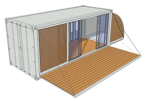 20ft containerhaus containerhome containerhouse imnu varianten. Black Bedroom Furniture Sets. Home Design Ideas